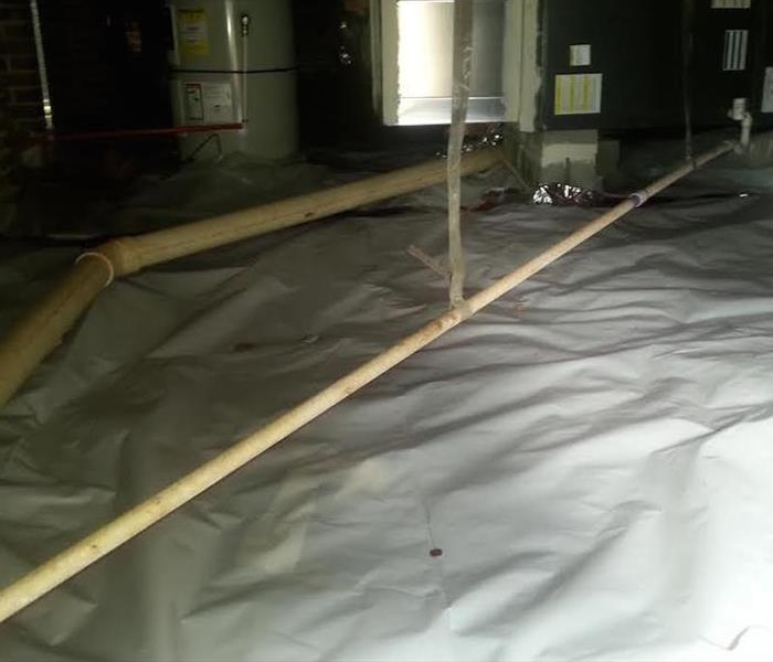 Crawlspace Vapor Barrier Installation In Fort Mill After