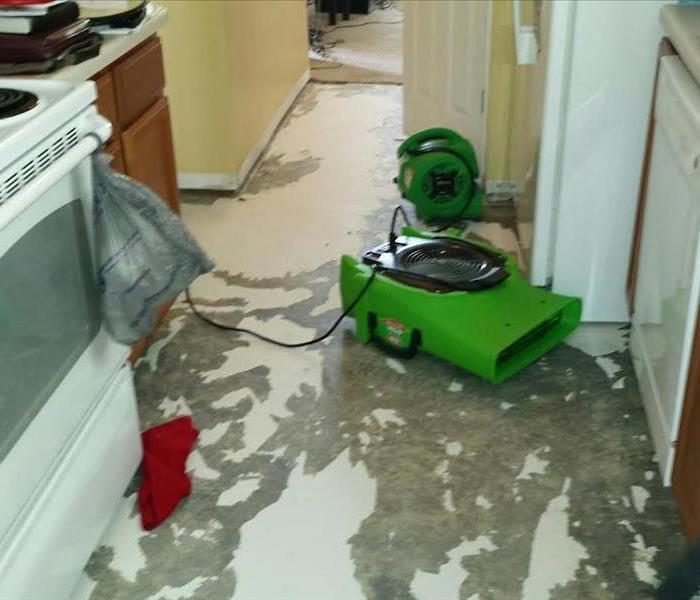 Water damage restoration in Fort Mill