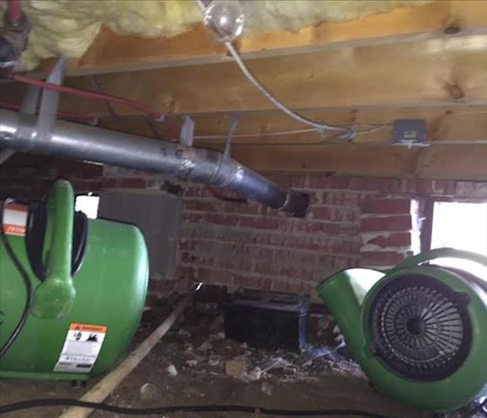 Flooded Crawlspace Cleanup In Fort Mill