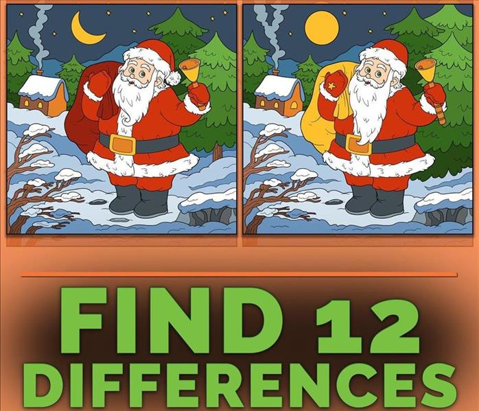 Can you spot the 12 differences?