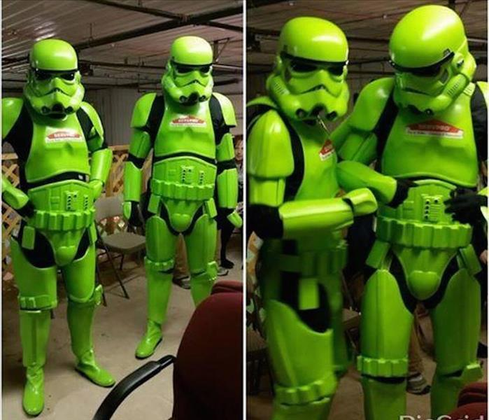 Star Wars Storm Troopers And SERVPRO