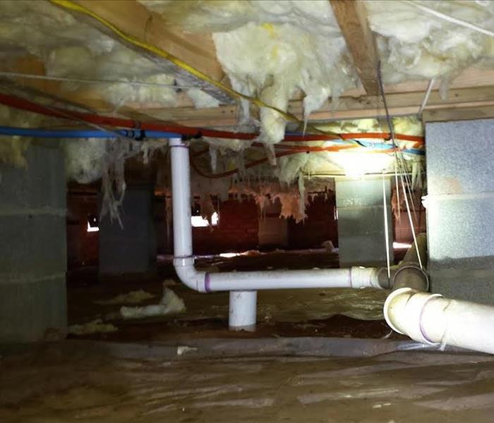 Water Damage To Crawlspace In Fort Mill