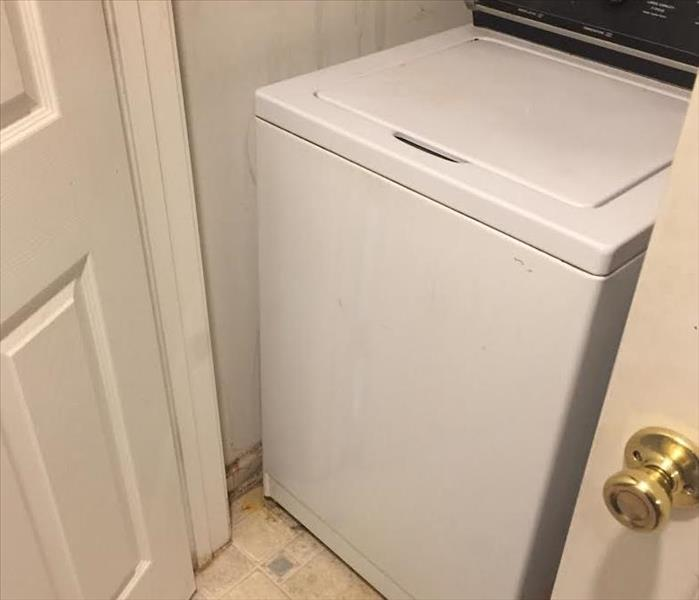 Water Damage Washing Machine Overflow In Fort Mill