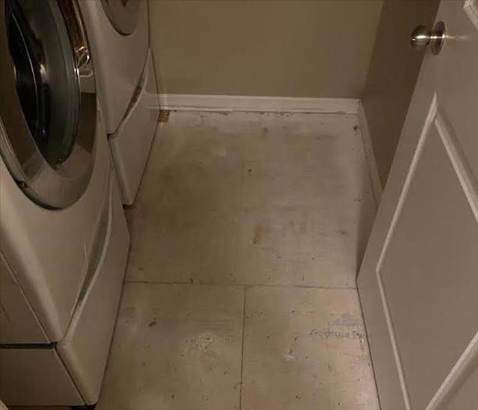 Washer and dryer after a water damage