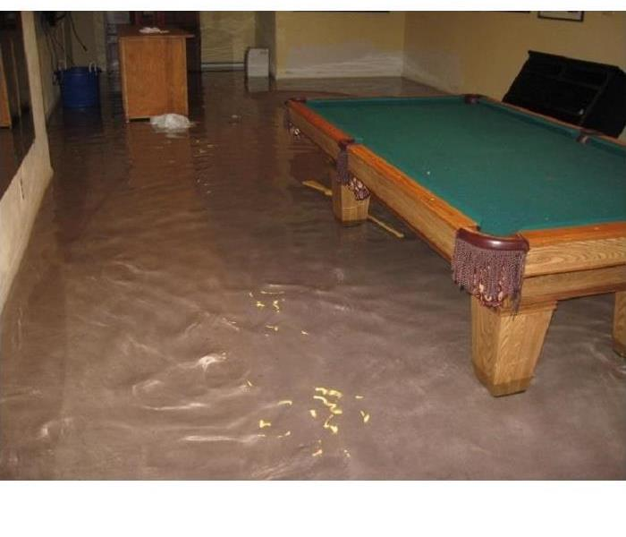 Water Damage York County Residents: We Specialize in Flooded Basement Cleanup and Restoration!