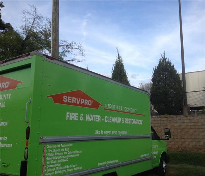 Water Damage SERVPRO Is Your Clover Water Damage Cleanup Team