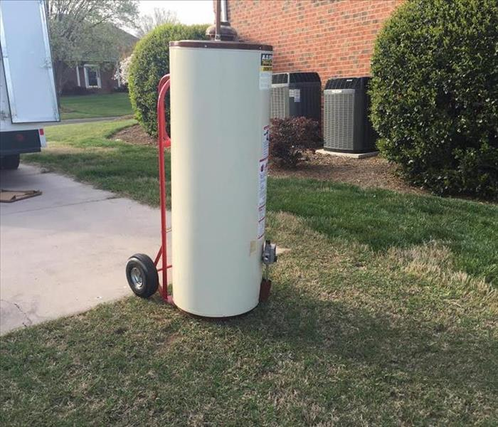 Water Damage Water Heater Caused A Water Damage Claim In Fort Mill