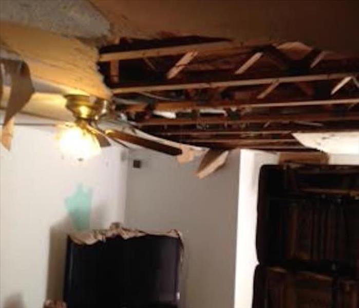 flooded basement can cause damage to the structure and contents