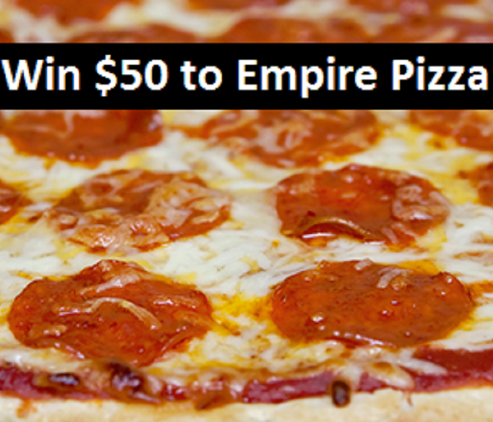 Community FREE FOOD FROM EMPIRE PIZZA!